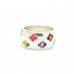 Swarovski kristályos gyűrű