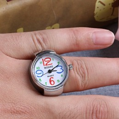 Gyűrű óra színes számokkal 353oc
